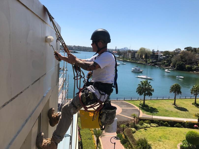 high rise painters sydney